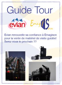 Evian fait à nouveau confiance à Emagison