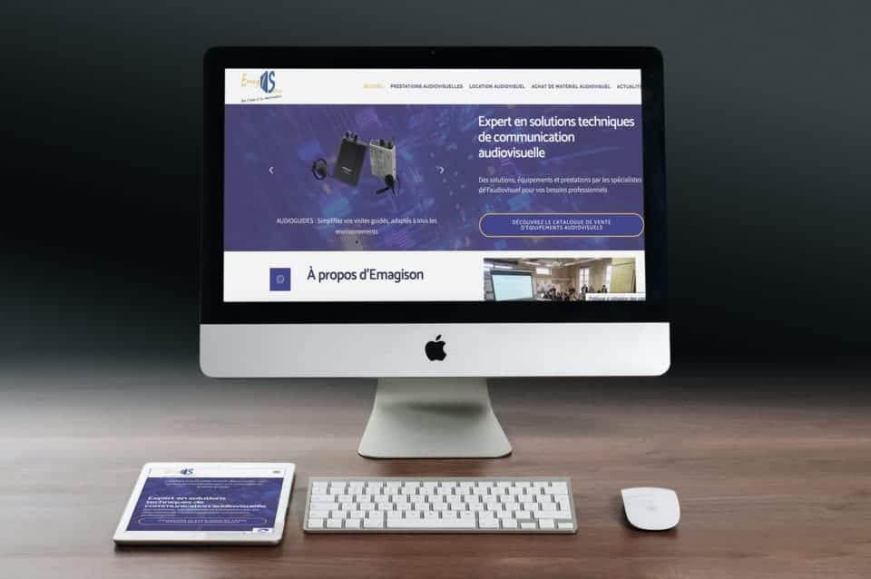 Nouveau site internet EmagiSon.com