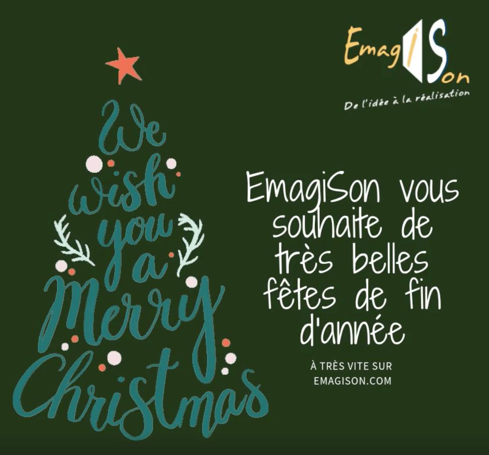 EmagiSon vous souhaite de belles fêtes