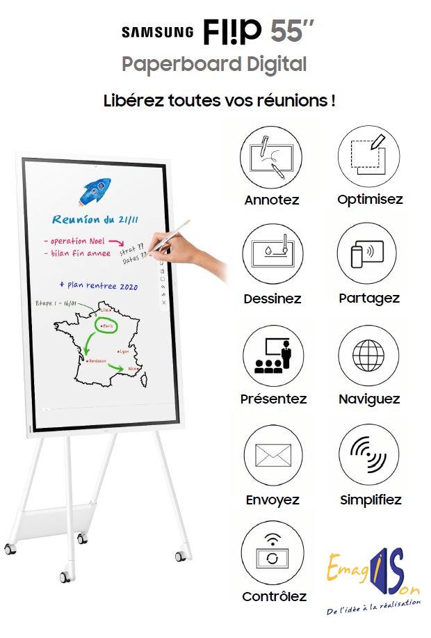 Paperboard digital flip 2 Samsung