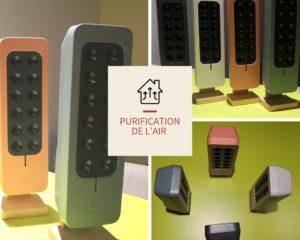 teqoya propose des ioniseurs d'air portable colorés