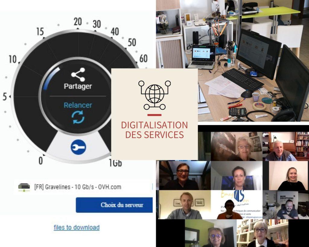 digitalisation des services