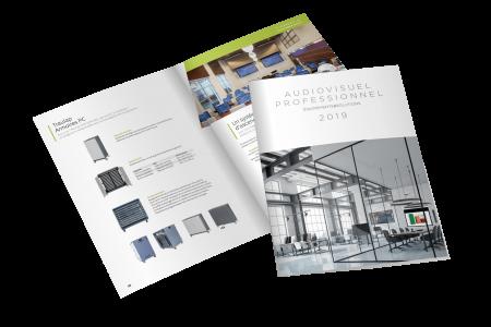 Catalogue de vente EmagiSon, matériel et équipement audiovisuel
